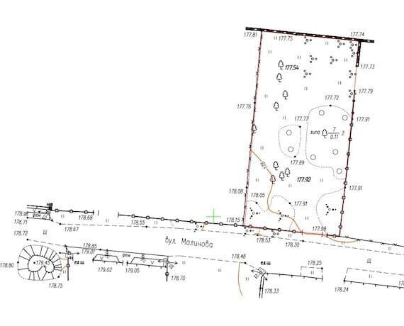 Как составить схему земельного участка