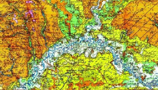 Геология и геодезия Чернигова и Черниговской области