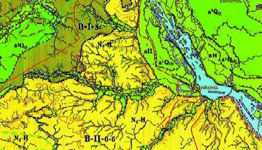 Геология и геодезия Киева и Киевской области