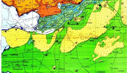 Геология и геодезия Херсона и Херсонской области