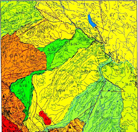 Геология и геодезия Ивано-Франковска и Ивано-Франковской области