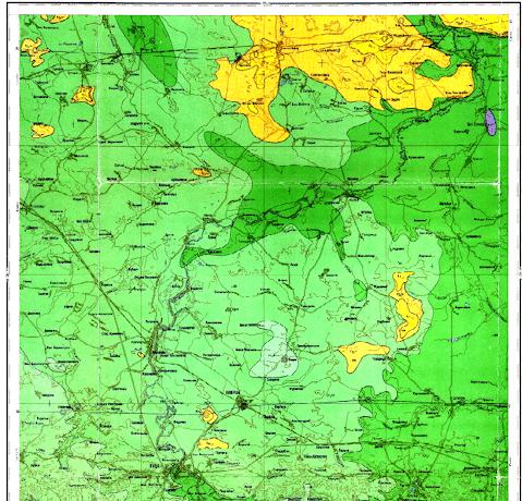 Геология и геодезия Луцка и  Волынской области