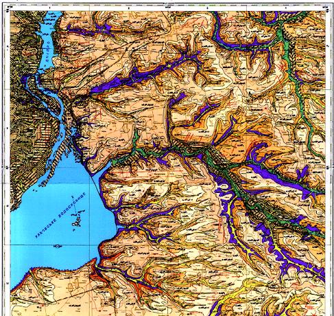 Геология и геодезия Запорожья и Запорожской области