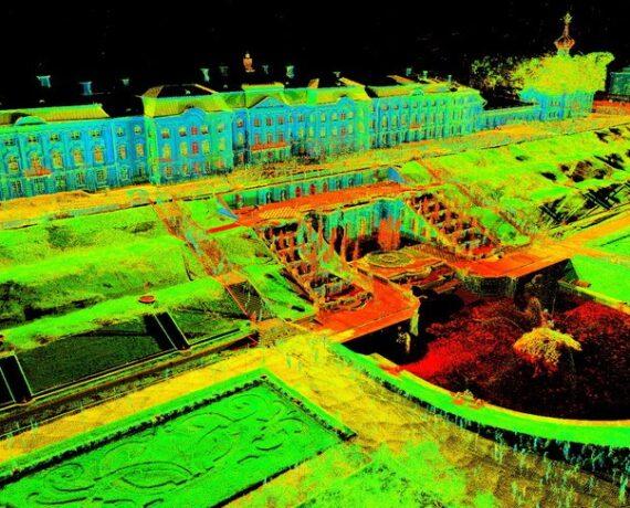 Лазерное сканирование в геодезии